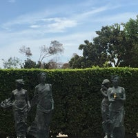 Photo taken at Cerritos Sculpture Garden by Bryan M. on 8/2/2017