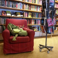 Photo taken at Ringstorps bibliotek by Sara W. on 6/9/2014