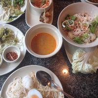 Photo taken at Kanom Jeen Bangkok by Best P. on 5/10/2014