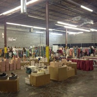 Photo taken at Boutique Warehouse Sale by Stephanie B. on 7/20/2013