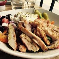 Photo taken at Evoo Greek Kitchen by Marla M. on 9/9/2015
