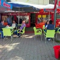 Photo taken at Çınar Altı Cafe by Sinan Y. on 4/20/2014