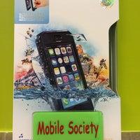 Photo taken at Mobile Society by eakmoso on 3/10/2014