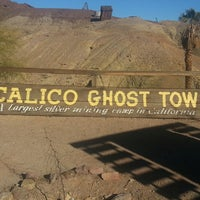 Photo taken at Calico Ghost Town by Mari P. on 3/2/2015
