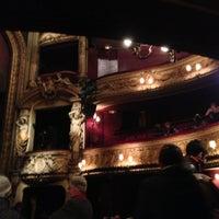 Photo taken at Théâtre de la Renaissance by Pierrick L. on 1/16/2013