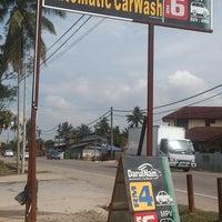 Photo taken at DarulNaim Automatic car wash by Bang S. on 1/5/2015