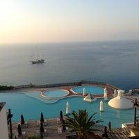 Photo taken at Kempinski Hotel Barbaros Bay by AKIN S. on 5/3/2013