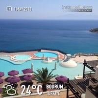 Photo taken at Kempinski Hotel Barbaros Bay by AKIN S. on 5/1/2013