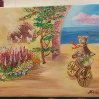 Снимок сделан в Художественная Мастерская Lilii Stepanovoy пользователем Nataliia R. 2/10/2015