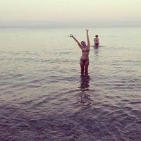 Photo taken at Endless Blue Beach Bar by Roxana P. on 9/1/2014