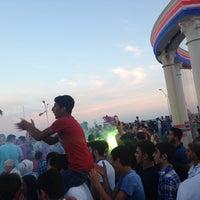 Photo taken at Mersin İdman Yurdu Meydanı by Eyyup Emre K. on 5/18/2014