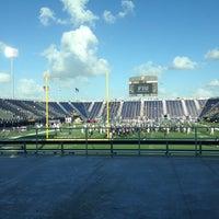 Photo taken at FIU Stadium by Taiwo C. on 10/13/2012