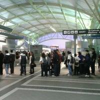 Photo taken at Millbrae Caltrain Station by zǝñɐʎ ʎ. on 10/31/2012
