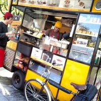 Photo taken at Wafels & Dinges - Vedette Cart by Kris R. on 4/26/2013