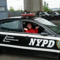 Photo taken at NYPD Queens Tow Operations by Claude N. on 5/11/2013