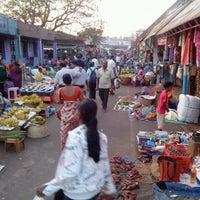 Photo taken at Mapusa Market by Vladislav B. on 1/7/2013