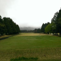 Photo taken at Fujiya Hotel Sengoku Golf Course by Saku Y. on 4/21/2013