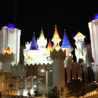 Photo taken at Excalibur Hotel & Casino by Saku Y. on 1/9/2013