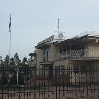 Photo taken at Consulate-General of Hungary / Венгрияның Бас консулдығы / Főkonzulátusa a Magyar Köztársaság by Светлана Н. on 3/20/2015