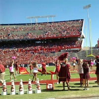 Photo taken at Arizona Stadium by Bethany H. on 10/27/2012