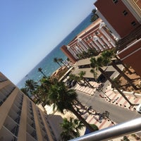 Photo taken at Hotel Playasol by Ann-Sophie M. on 7/24/2016