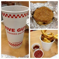 Photo taken at Five Guys by Michael C. on 10/31/2012