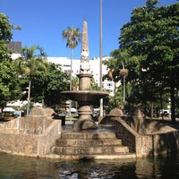 Photo taken at Praça General Osório by Helio d. on 12/18/2012