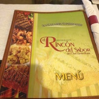 Photo taken at El Rincon Del Sabor by Frances J. on 9/24/2012