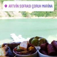 Photo taken at Çoruh Marina Restaurant by Büşra T. on 6/28/2017