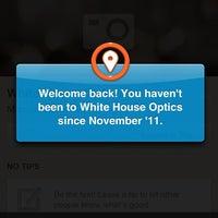 Photo taken at White House Optics by GieGie on 1/2/2013