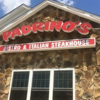 Photo taken at Padrino's Bistro & Italian Steakhouse by Brooke L. on 6/29/2016
