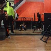 Photo taken at Ojo De Tigre Box y Muay Thai by Lizett D. on 9/4/2014