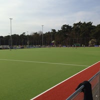 "Photo taken at Hockeyvereniging ""Hockey Ons Devies"" (H.O.D.) by John R. on 3/29/2014"