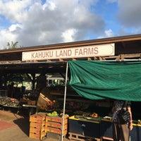 Photo taken at Kahuku Land Farms Fruit Stand by Belinda T. on 7/20/2017