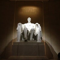 Photo taken at Lincoln Memorial by Elmer T. on 7/20/2013