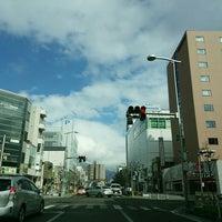 Photo taken at 伊勢町交差点 by Masaki K. on 3/11/2016