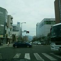 Photo taken at 伊勢町交差点 by Masaki K. on 4/1/2016