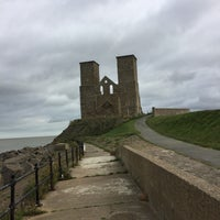 Photo taken at Reculver Towers and Roman Fort by Ian E. on 10/7/2017