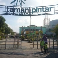 Photo taken at Taman Pintar by Inal on 5/7/2013