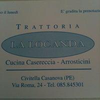 """Photo taken at Trattoria """"La Locanda"""" by Luigi L. on 6/30/2013"""
