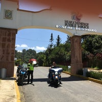 Photo taken at Desviacion Huachinango Puebla by Omf K. on 9/9/2016