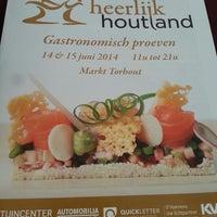 Photo taken at Heerlijk Houtland by Emmerson C. on 6/14/2014