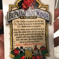 Photo taken at National Buffalo Wing Hall Of Fame by Gene X. on 8/21/2017