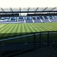 Photo taken at Boulevard Members Club at Sporting Park by Brad L. on 7/7/2012