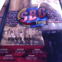 Photo taken at SBC Restaurant & Brewery by Karin T. on 6/17/2012