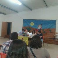Photo taken at Centro Social Da Carregueira by Tiago R. on 5/27/2012