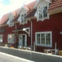 Photo taken at Saltsjöbaden (L) by Dmitrii D. on 7/14/2012