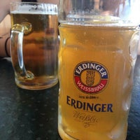 Photo taken at Erdinger Weissbrau by Ariadna A. on 8/11/2014