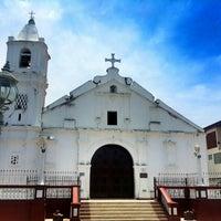 Photo taken at Iglesia Santa Librada by Gabriel L. on 4/19/2014
