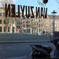 Photo taken at Café Van Zuylen by Ruhi Ferit E. on 1/1/2013